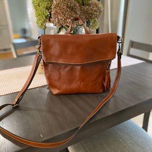 Leather Crossbody/Backpck